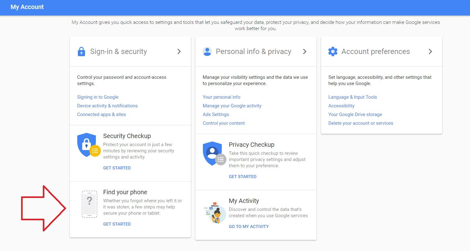 1 Iata cum iti gasesti, blochezi si stergi telefonul cu contul de Google!