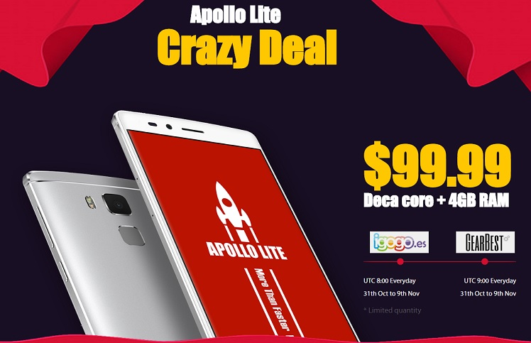 456ersda Iata cum poti cumpara Vernee Apollo Lite la un pret de numai 99 USD!