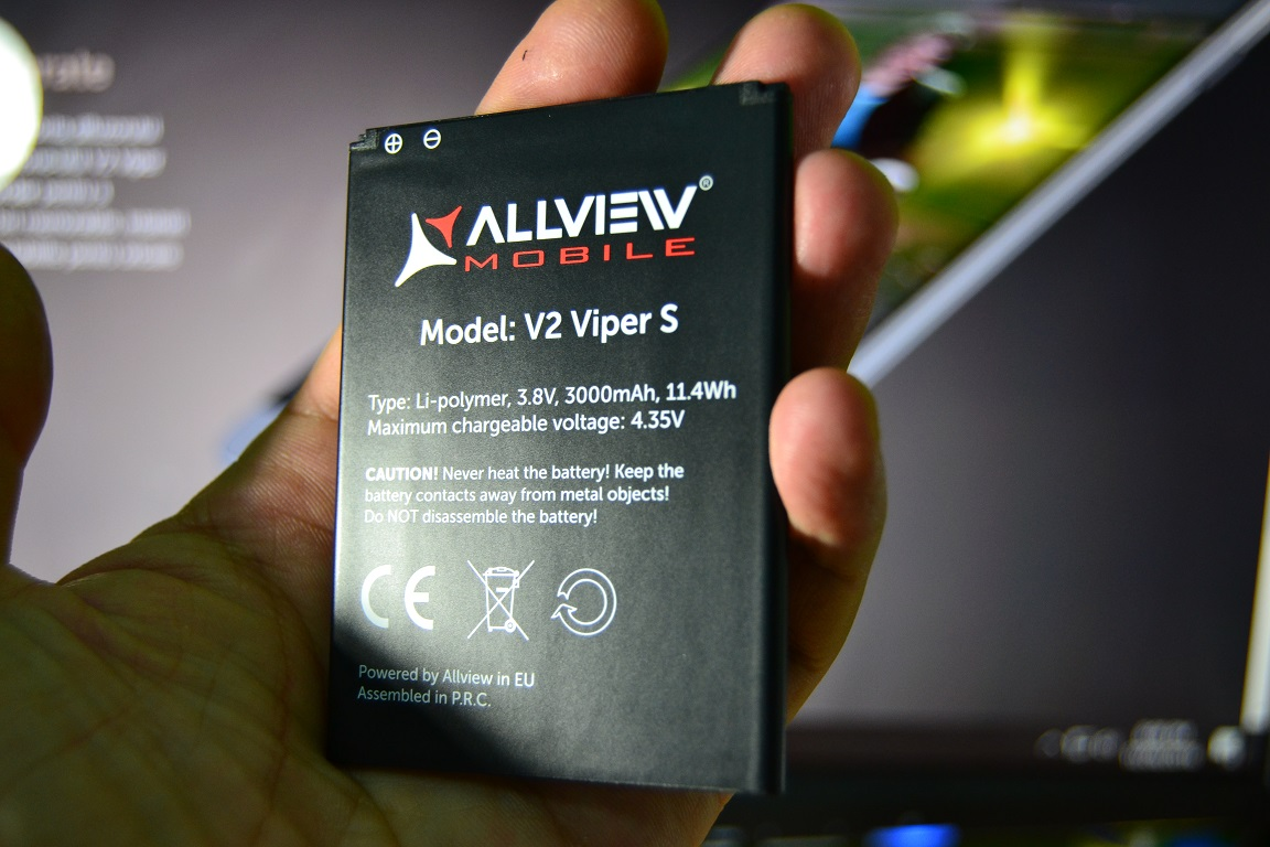 CONCURS si unboxing Allview V2 Viper S