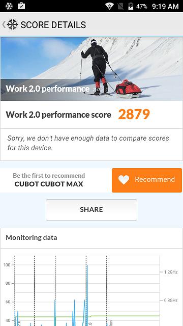 Review Cubot Max, sistemul de operare si testele de benchmark