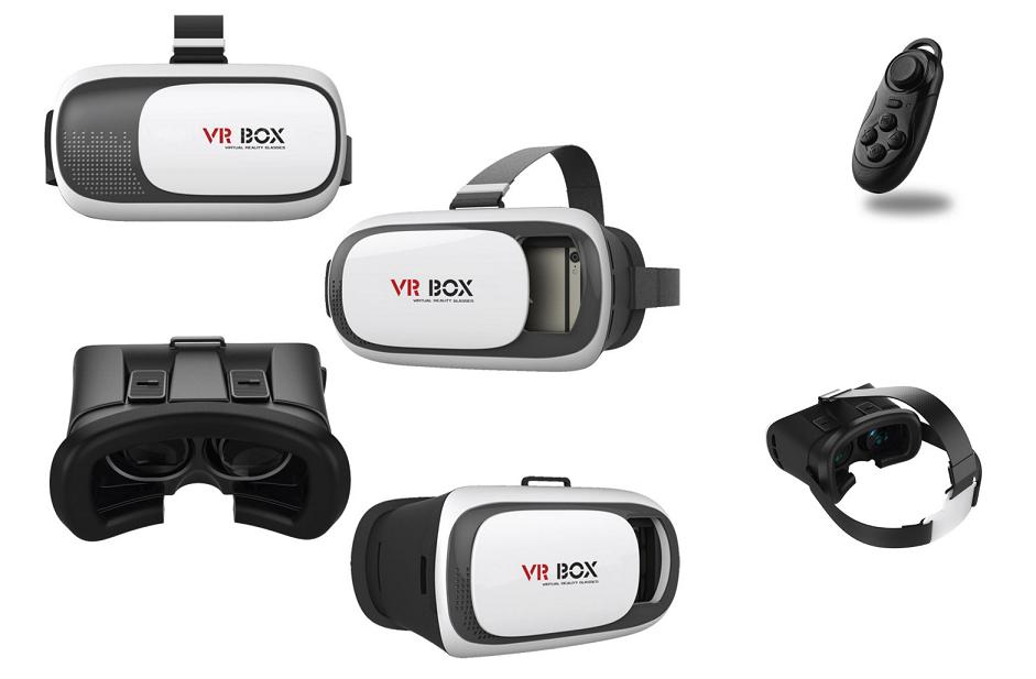 drfvx Prezentarea ochelarilor 3D realitate virtuala Widjit VR Box 2.0