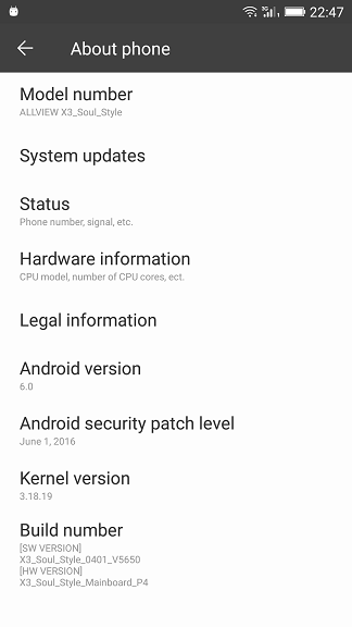 Allview X3 Soul Style - Root, TWRP recovery si xposed
