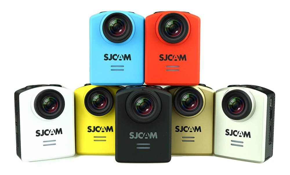 sjm201 Prezentarea camerei video sport de actiune SJCAM M20