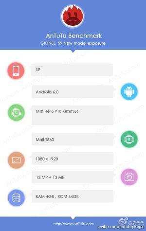 1232rtfasz Gionee S9 obtine certificare TEENA, primul telefon Allview cu 2 camere?