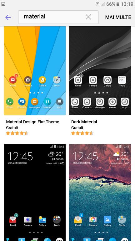 Instalare teme complete pe telefoanele Samsung, fara root si Google Play!