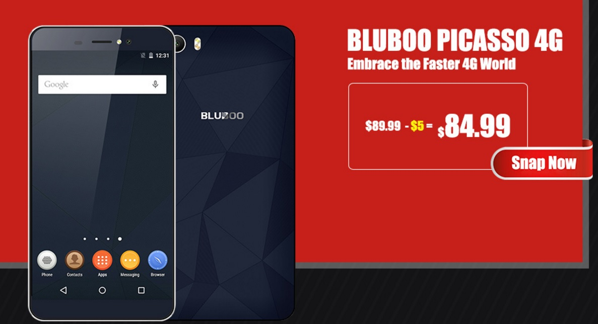 blo6 Super oferta reala pentru Bluboo Edge de Black Friday!