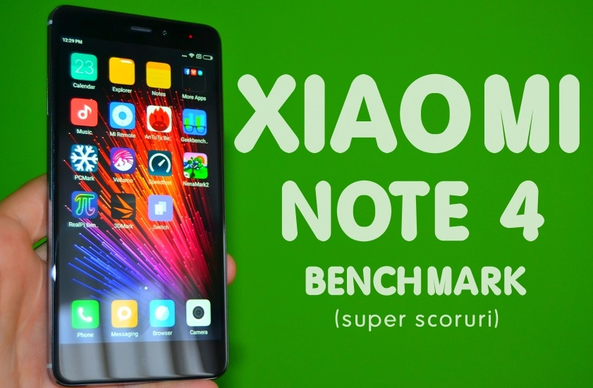 "rtrtrtrt Review Xiaomi Redmi Note 4, ""rupe tot"" in testele de benchmark!"