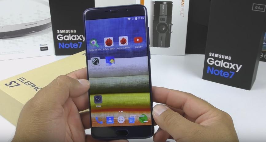 ttt Elephone S7 apare in Romania la iHunt, pretul este destul de mare!