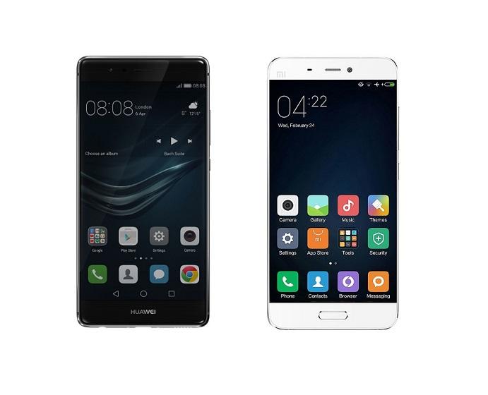 Huawei P9 vs Xiaomi Mi 5