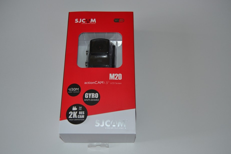 SJCAM M20 6 Unboxing camera de actiune SJCAM M20 si primele pareri