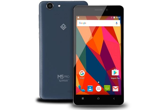 smartphone-dual-sim-m5pro Evolio lanseaza telefoanele M5Pro și M6, ieftine si cu Marshmallow