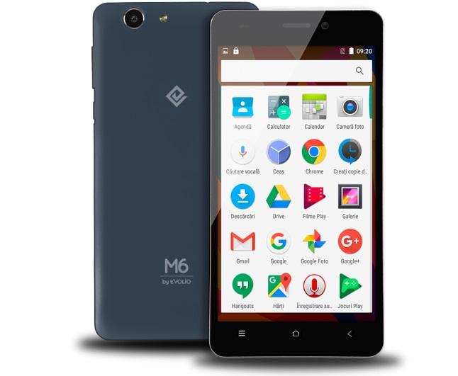 smartphone-dual-sim-m6 Evolio lanseaza telefoanele M5Pro și M6, ieftine si cu Marshmallow