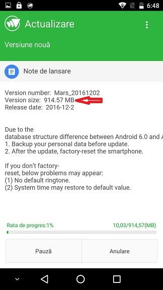 vernee-mars-marshmallow-4 Vernee Mars update Android 7 Nougat, iata toate parerile la cald!