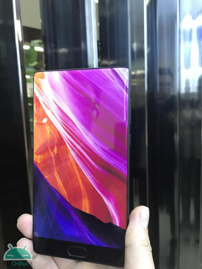 Elephone S8 Prima fotografie reala cu Elephone S8, clar o clona Xiaomi Mi Mix