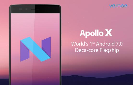 Vernee Apollo X Vernee Apollo X anuntat oficial, vine la MWC 2017 cu Android Nougat