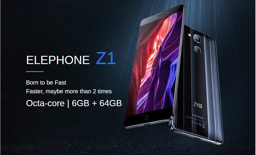 ElePhone Z1 Puternicul ElePhone Z1 primeste pret oficial, unul destul de bun