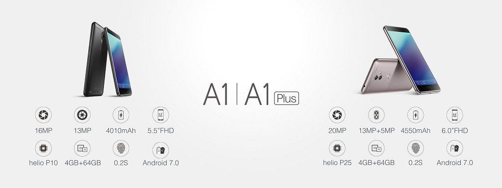 Gionee A1 si A1 Plus lansate la MWC 2017, posibil noi telefoane Allview