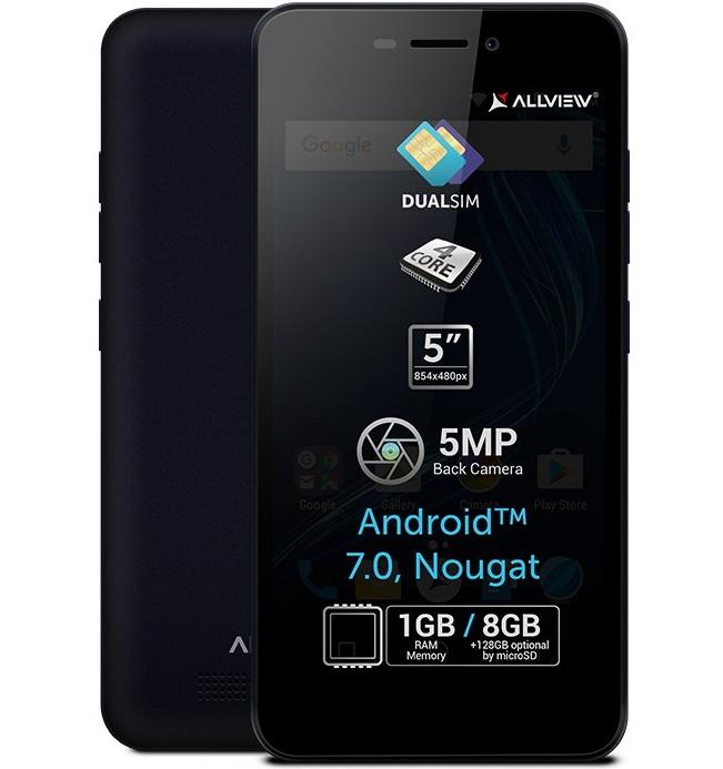 Allview A8 Lite Allview A8 Lite, lansat cu Android 7.0 Nougat, pareri si pret