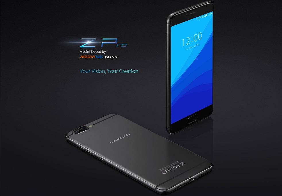 UMIDIGI Z Pro UMIDIGI Z Pro lansat la MWC, primul telefon dual camera de 13mp