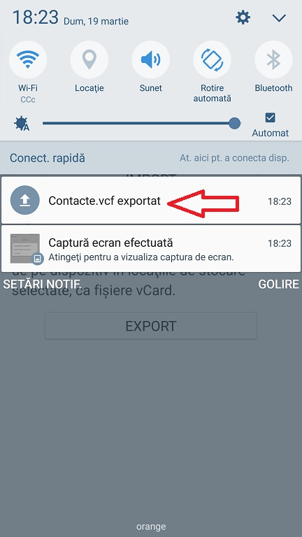Cum sa salvezi contactele din agenda telefonica si sa le copiezi