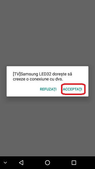 Conectarea unui telefon Android la Smart TV, ecran wireless
