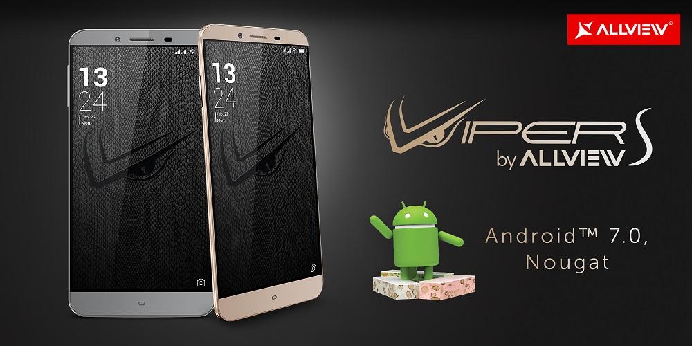 Allview V2 Viper S va primi update Android 7 Nougat oficial