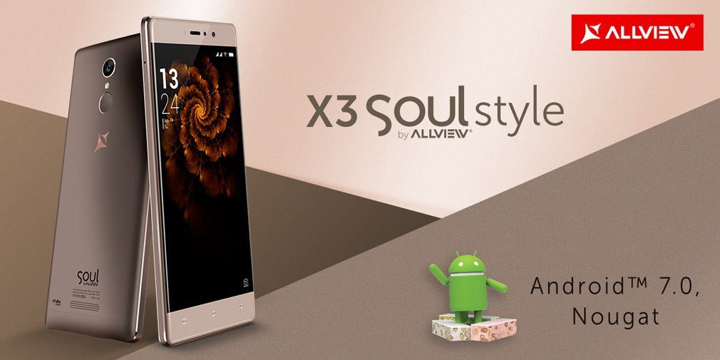 Allview X3 Soul Style Allview X3 Soul Style primeste oficial update la Android 7 Nougat