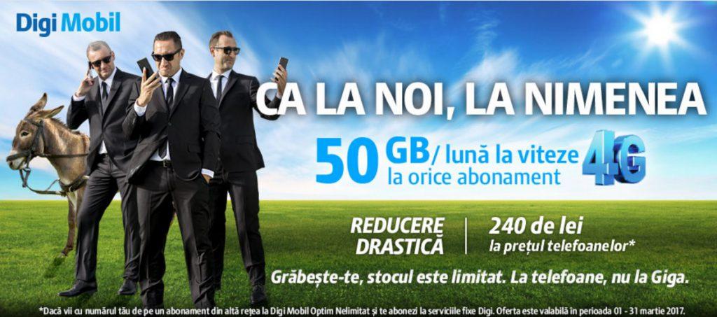 Telefoane mai ieftine la Digi Mobil