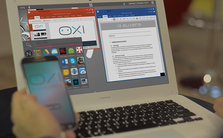 Vernee Apollo X si aplicatia OXI, experienta desktop pe telefon