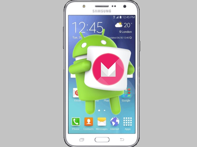 Samsung J5 SM J500 FM primeste update direct la Android Marshmallow