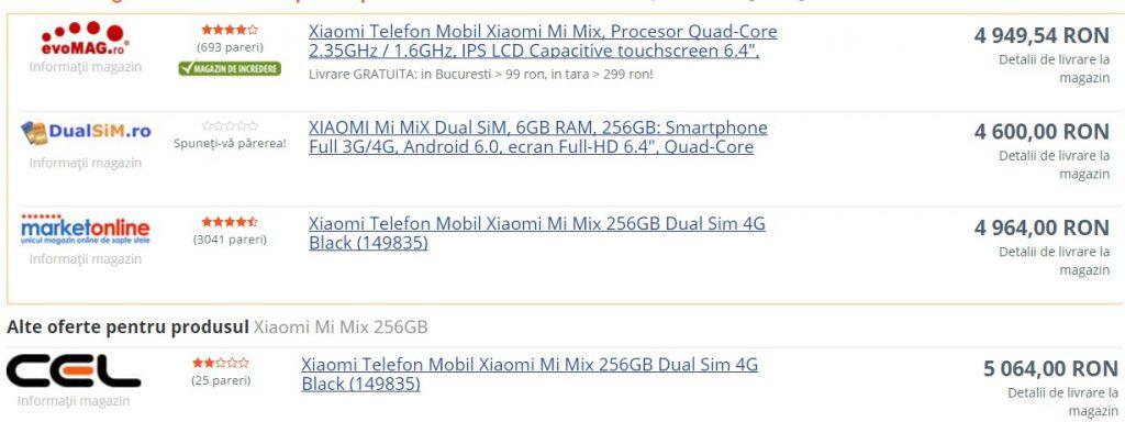 Xiaomi Mi Mix 2, mai frumos, mai dotat dar si mai scump