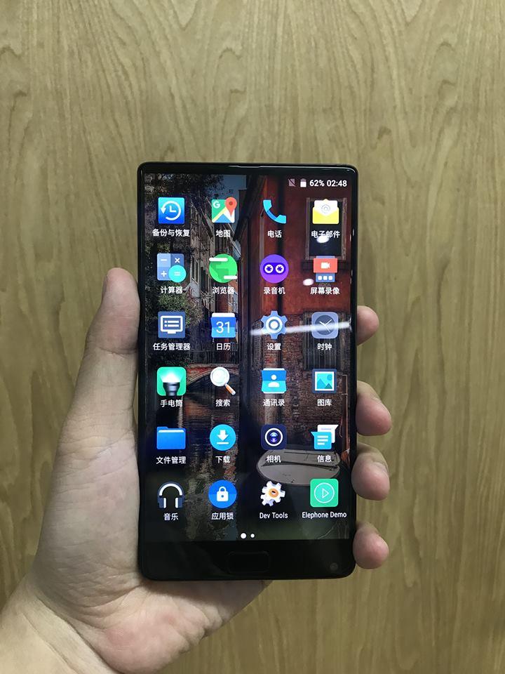In sfarsit, vedem si poze cu noul Elephone S8, posibil un alt MIX