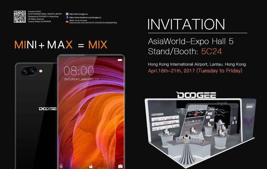 Doogee MIX, copie pe fata a telefonului Xiaomi Mi Mix