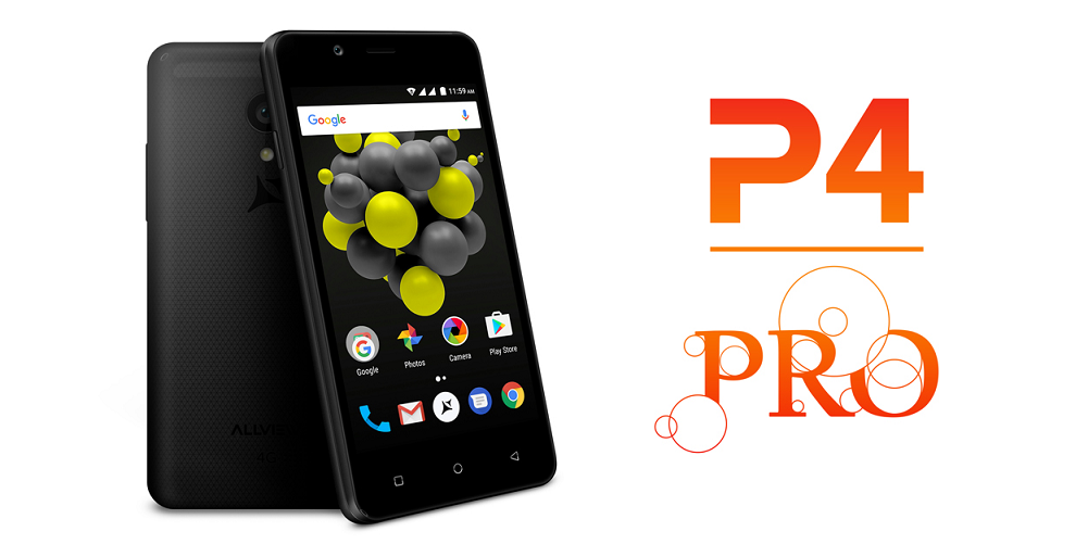 Allview P4 PRO lansat, display foarte mic dar rezolutie mare!