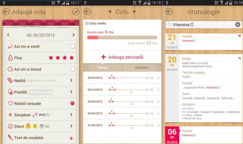 Calendarul menstruatiei, o aplicatie buna pe telefon, numai pentru fete