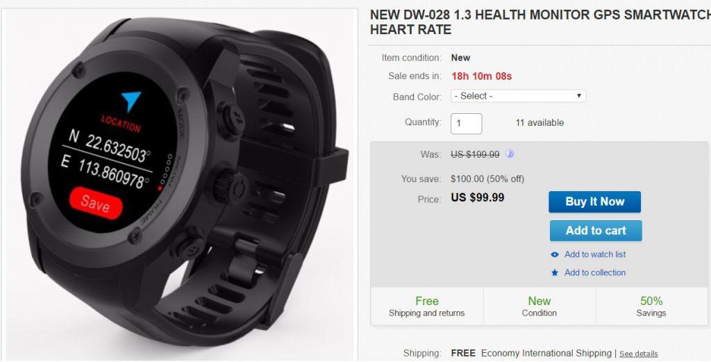 evolio x-watch sport, smartwatch cu gps dar nu foarte ieftin