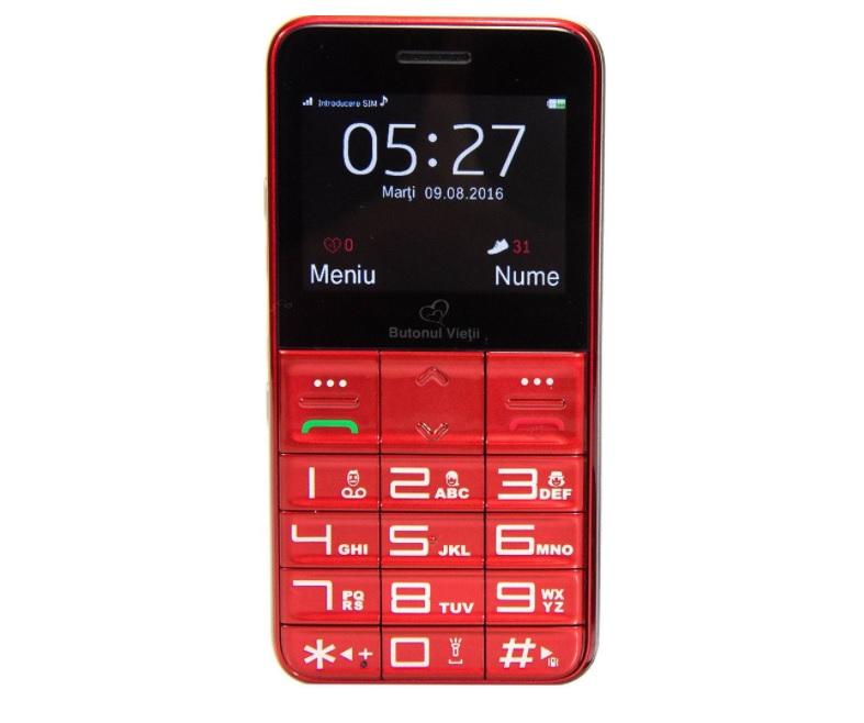 Butonul Vietii, telefon pentru seniori la 999 lei
