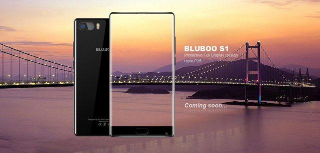 Bluboo S1 dezvaluit oficial, inca un telefon bezel-less