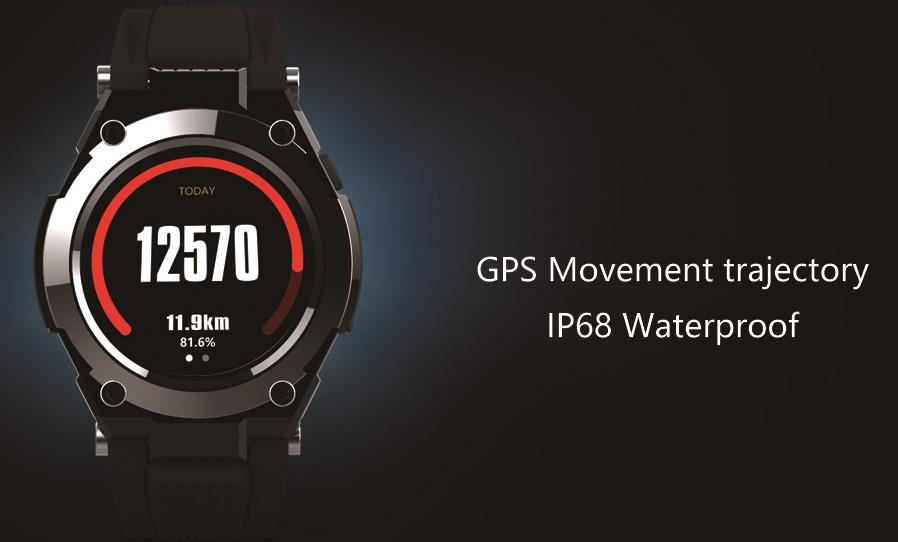 no.1 g9, primul smartwatch dotat cu mtk2503 si gps