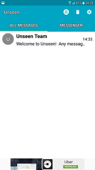 "Citeste mesajele de pe Messenger si WhatsApp fara ""seen"""