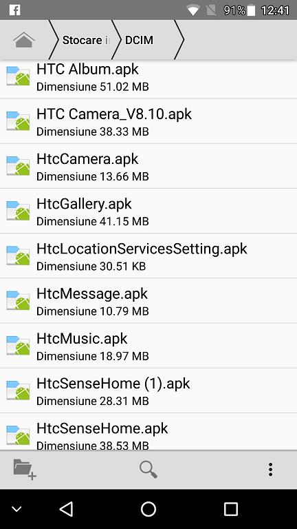 aplicatiile noi htc si launcher htc sense pentru orice telefon