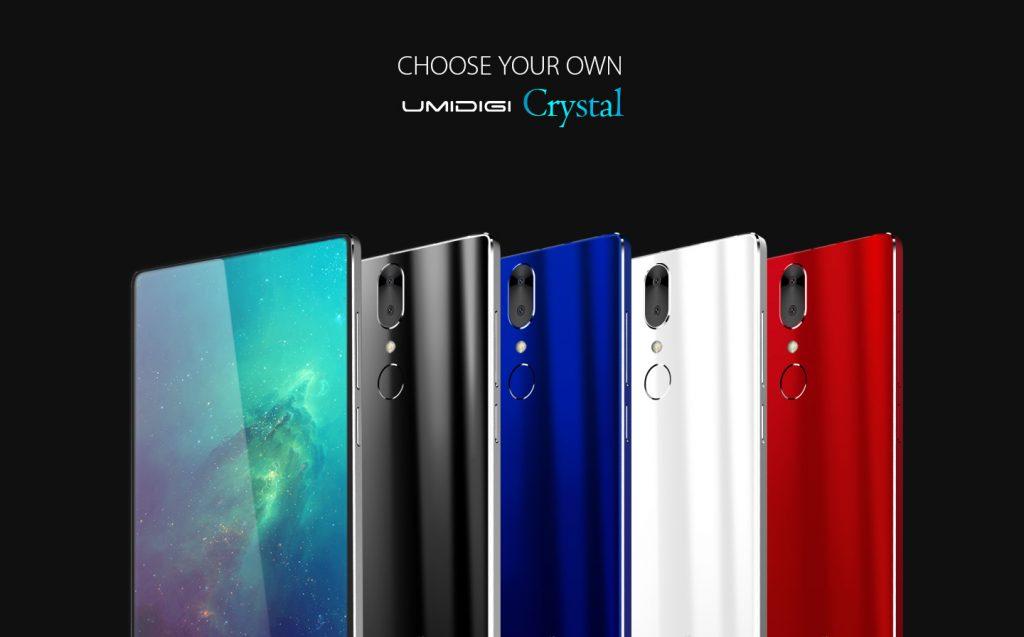 UMIDIGI Crystal PLUS, Snapdragon 835 si 6GB RAM!