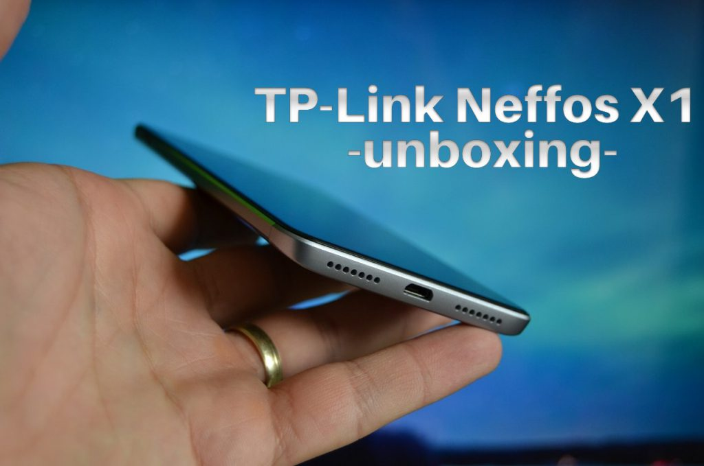 Unboxing TP-Link Neffos X1, Helio P10 si display de 5""