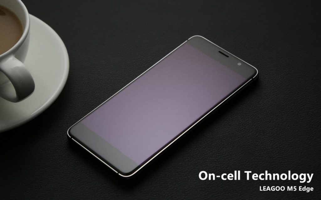 leagoo m5 edge va folosi un display on-cell