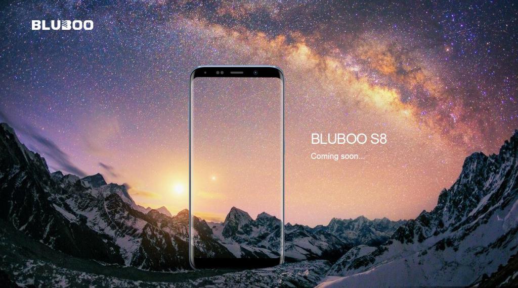 bluboo s8 anuntat oficial, alta clona de lux pentru samsung s8