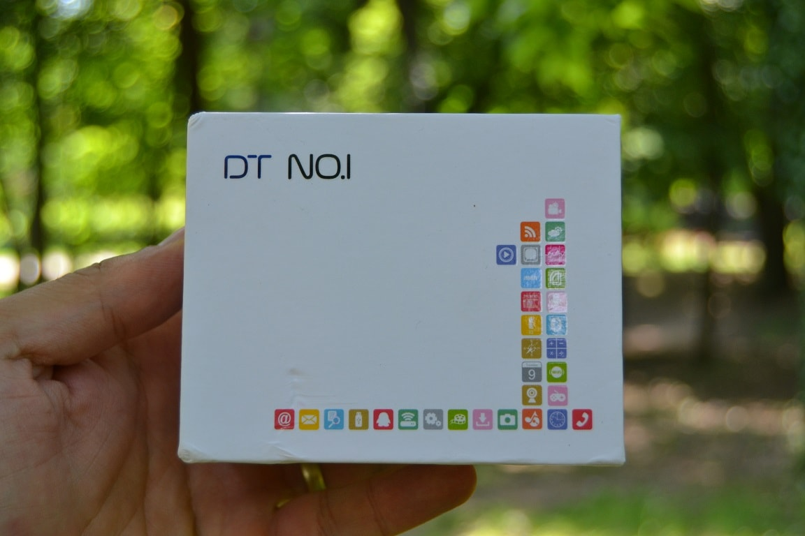 no.1 d7, ceas inteligent cu android, unboxing si pareri