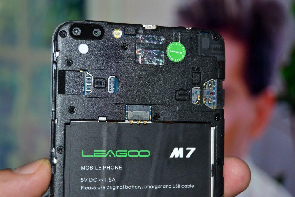 leagoo m7 dual camera, unboxing si primele pareri