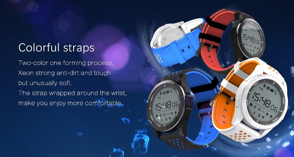 no.1 f3 noul smartwatch cu baterie ce dureaza 1 an!