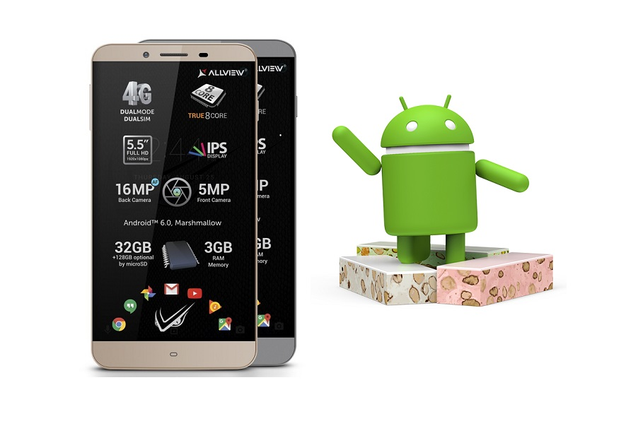 allview v2 viper s primeste oficial update la android 7 nougat