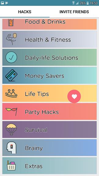 life hacks, o aplicatie interesanta din care invatam lucruri noi!